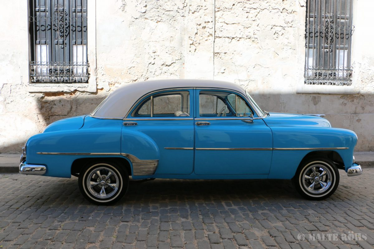 Antique car in Cuba