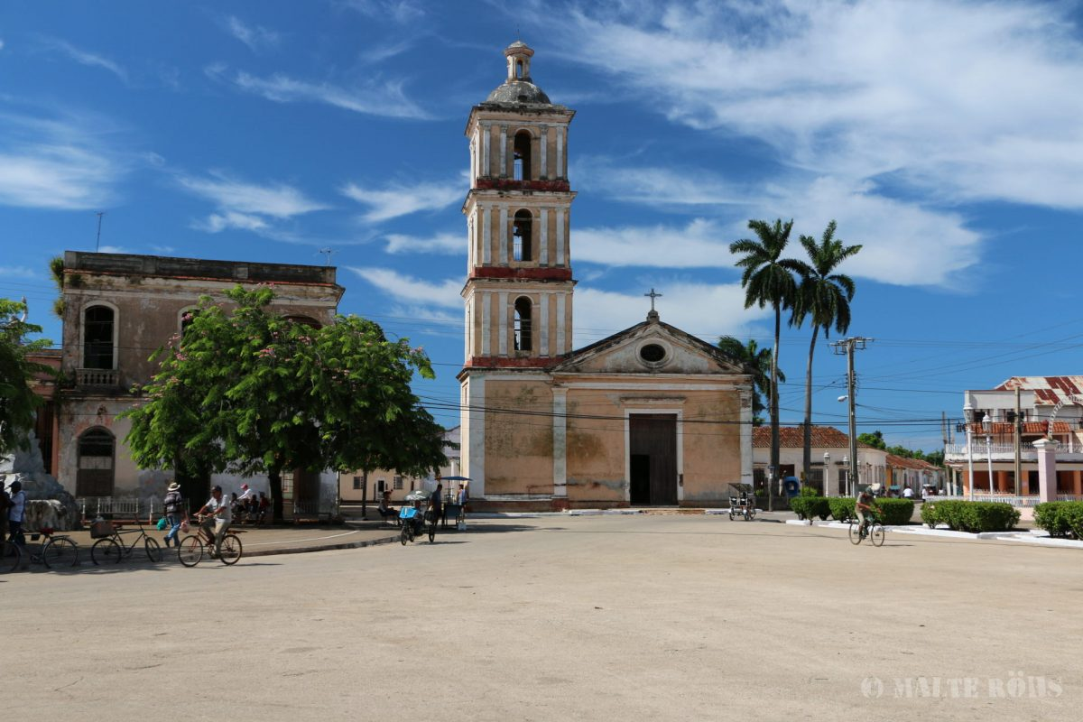 Iglesia Mayor in Remedios, Cuba