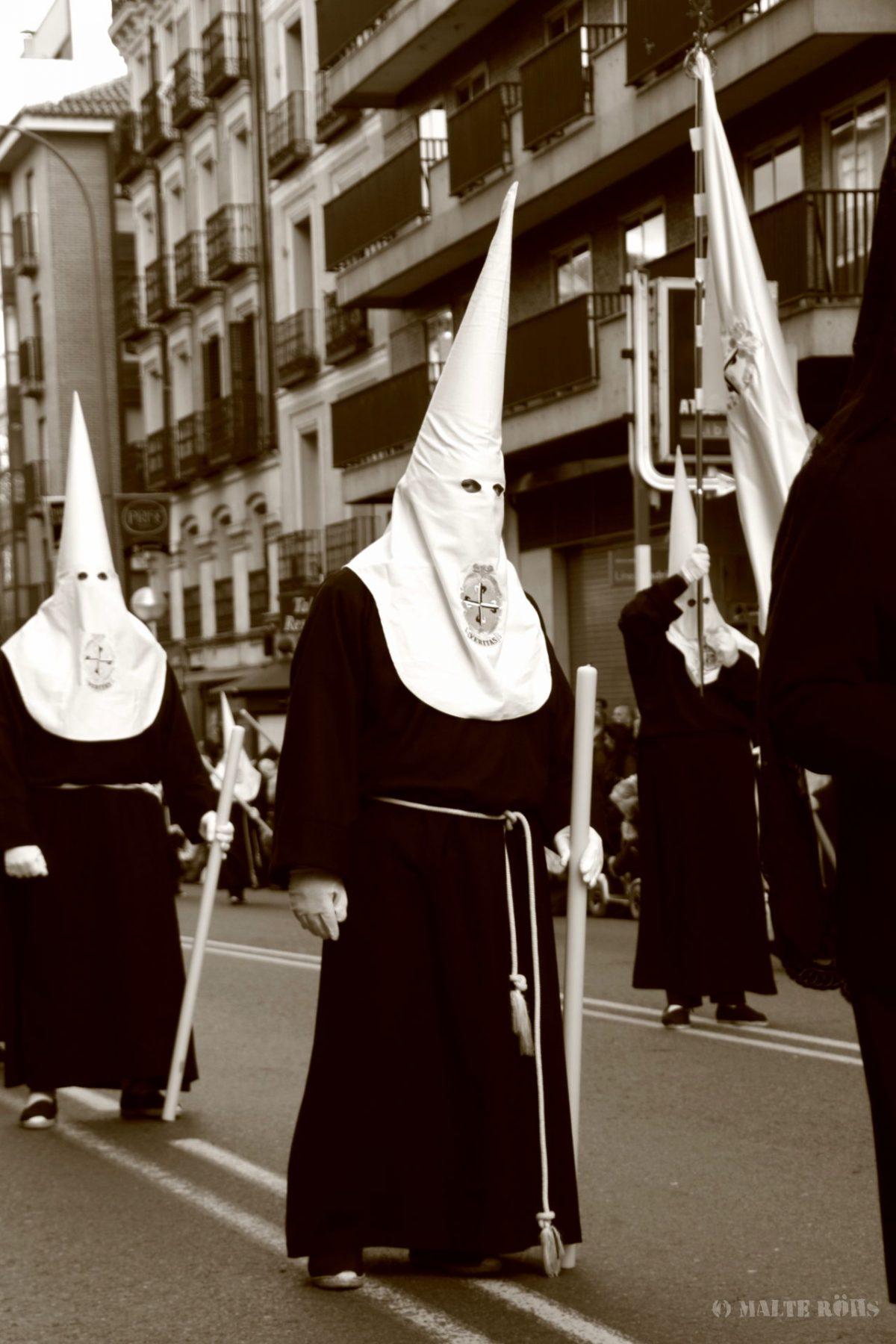 Procesión del Silencio en Madrid, Spain