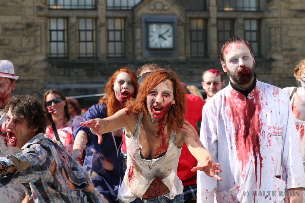 Zombie Walk 2015 Bielefeld, Germany